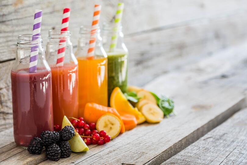 Plant-based beverages with natural coloring may see a boost in sales in 2017.