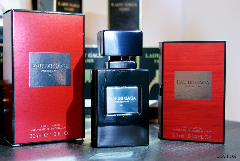 "Lady Gaga's Eau de Gaga uses the ""rule of three"" to appeal to shoppers."