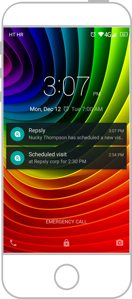 Repsly Notifications and Alerts