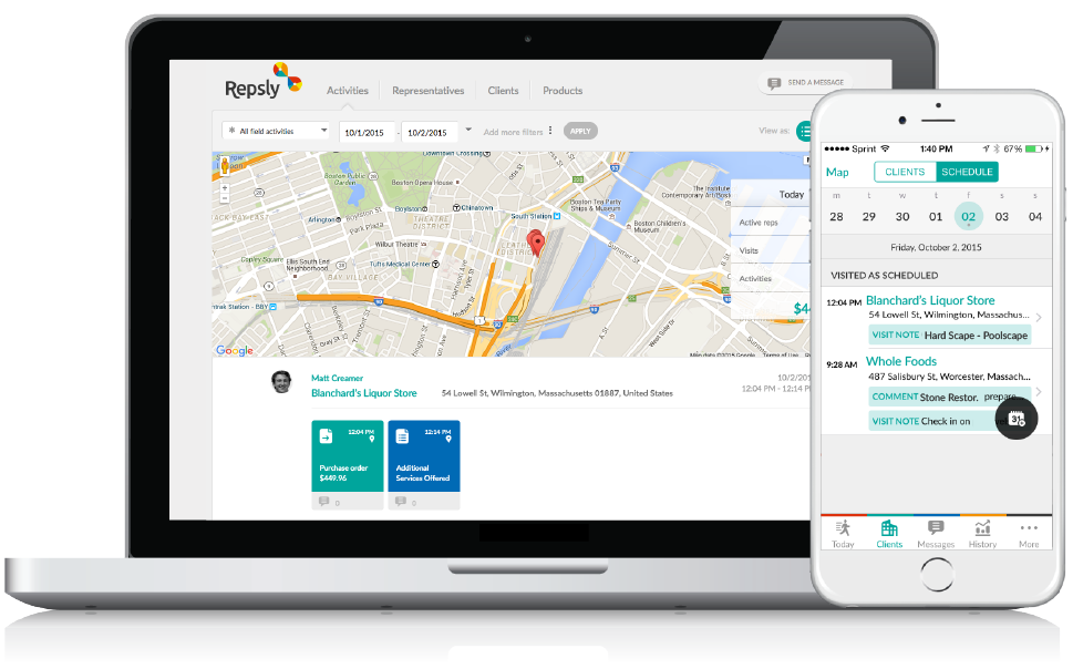 Beer Distribution Software GPS Tracking