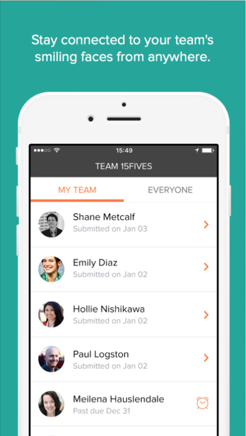 15Five best mobile apps remote team productivity