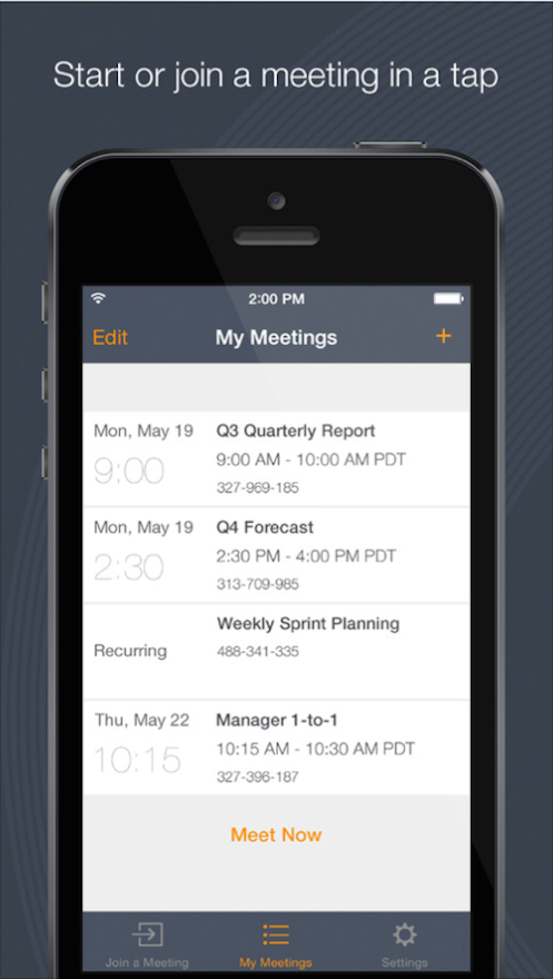 GoToMeeting best mobile apps remote team productivity