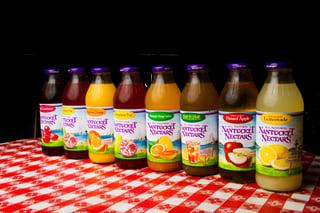 nantucket nectars beverage packaging design