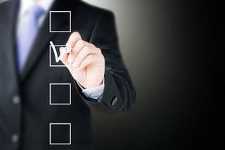 merchandising checklist