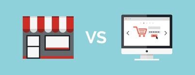 ecommerce vs brick and mortar