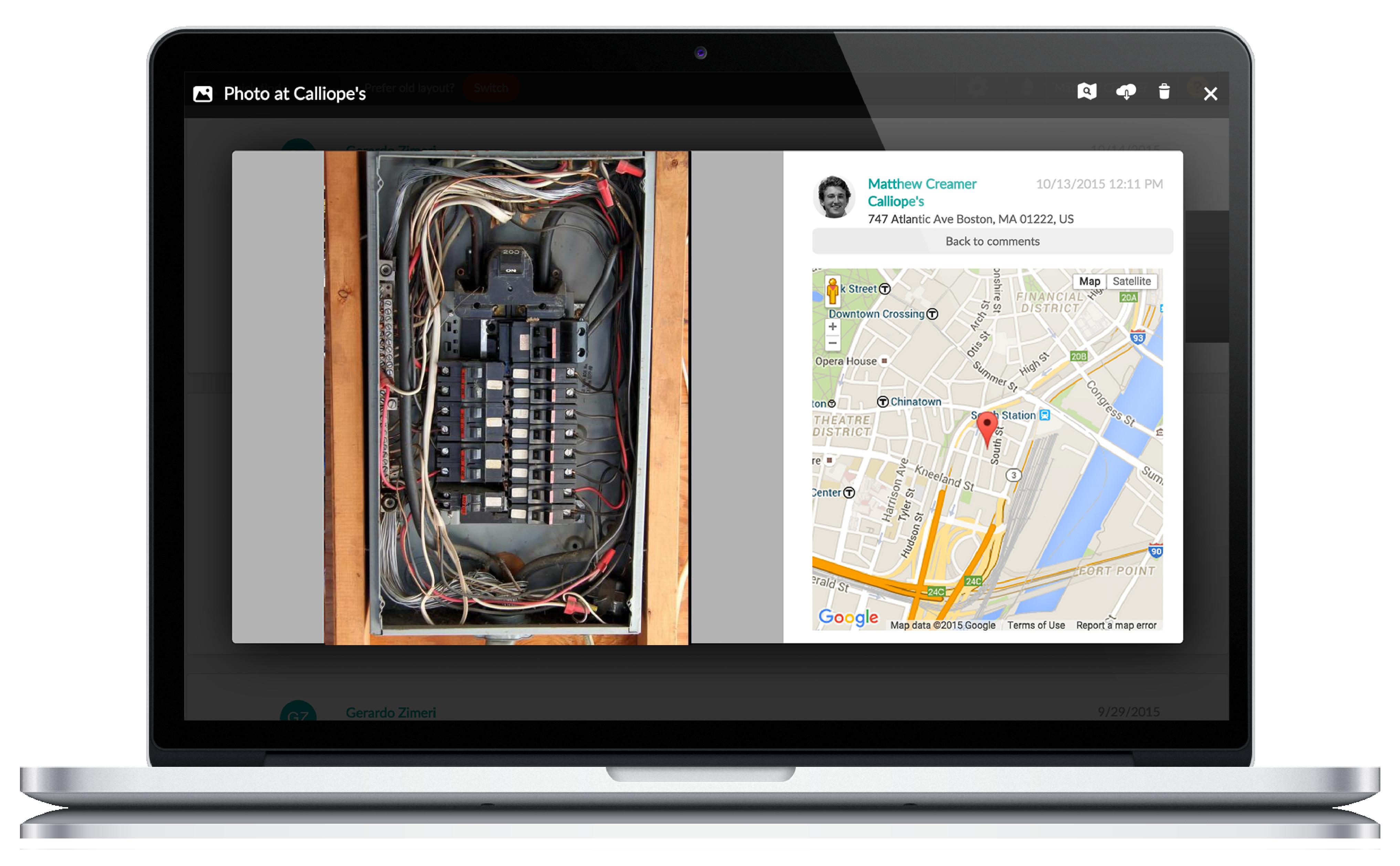Customer Relationship Management for Electrician App