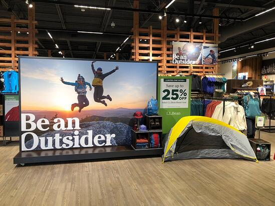 Be an Outsider L.L. Bean Campaign