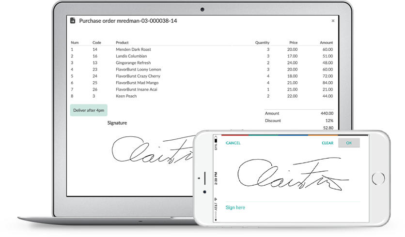 electronic signature app