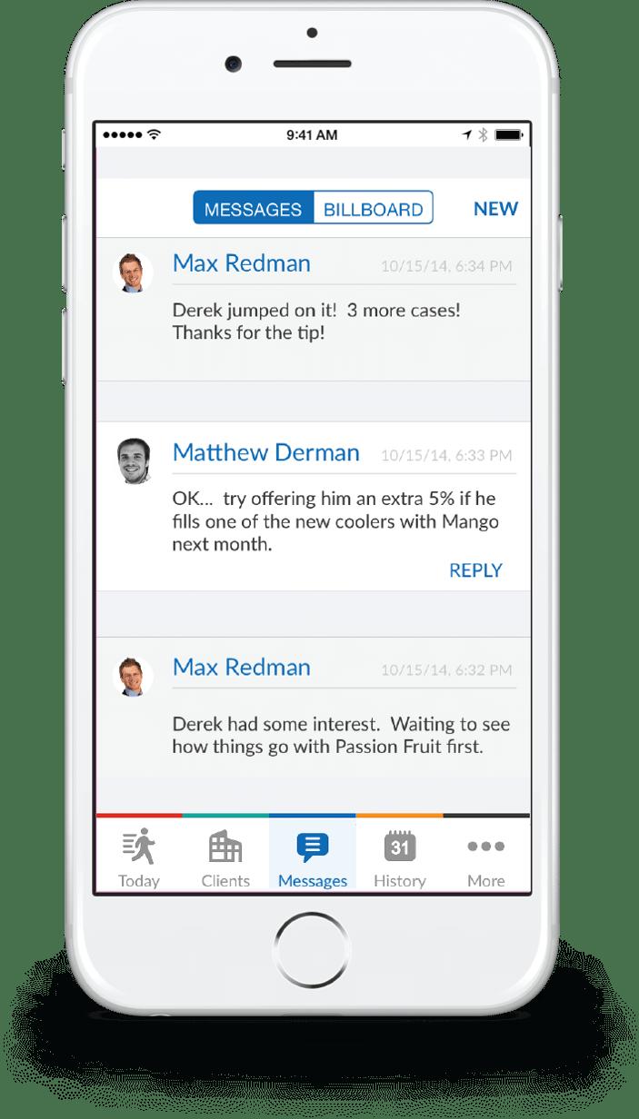 messaging app for field teams
