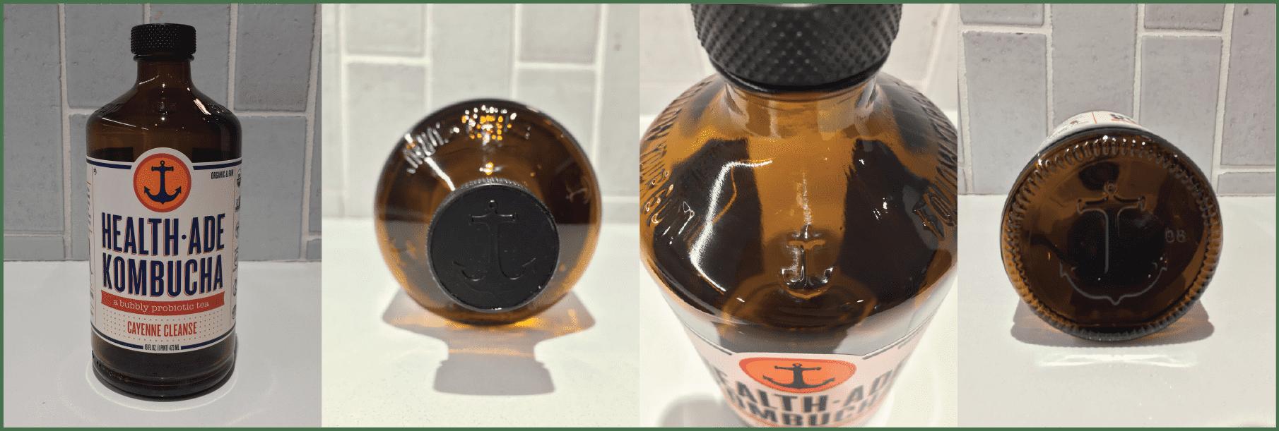 Health-Ade Kombucha Bottle Design Merchandising