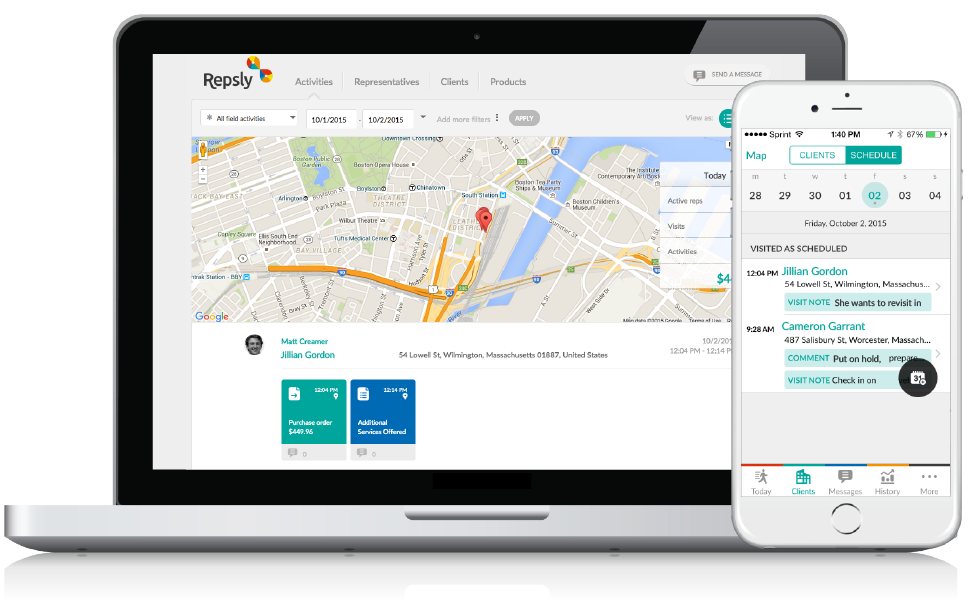 Solar CRM GPS Tracking