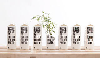 Beverage Packaging Trend for Boxed Water