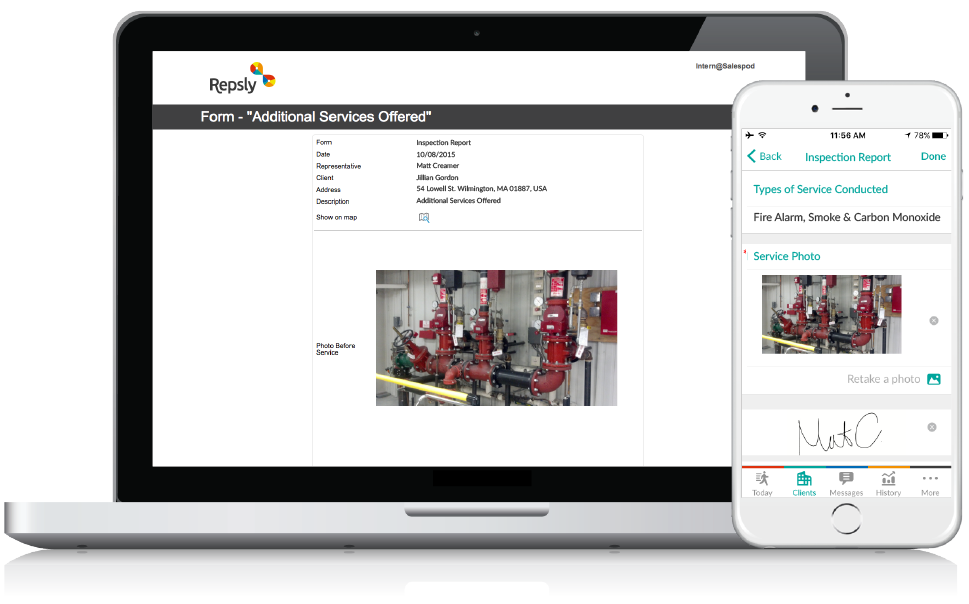 Fire Inspection Software Mobile forms