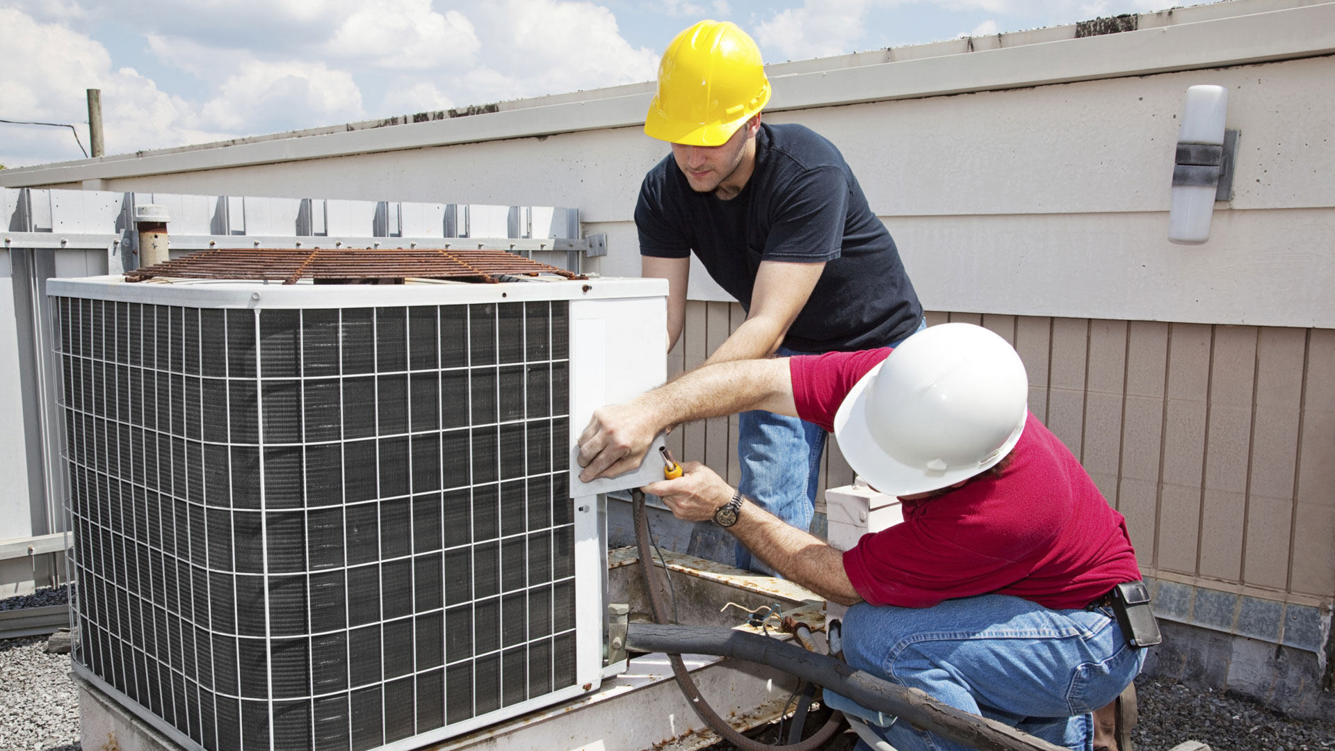 HVAC Service Software Background