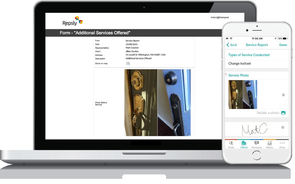 Locksmithing Software Mobile forms