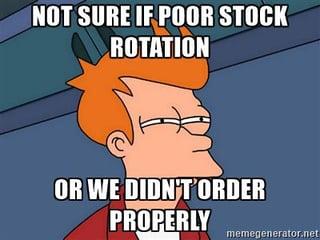 stock rotation meme