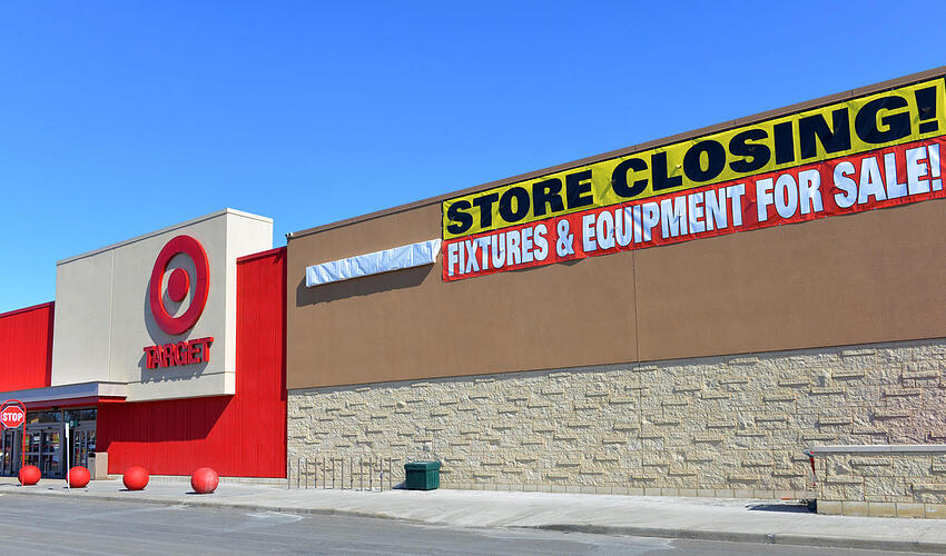 Retail giant Target closed 133 stores in Canada after just two years.