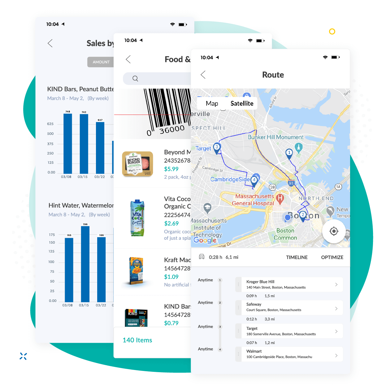 Repsly Mobile App Features